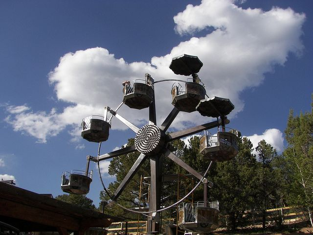 Mine Wheel At Glenwood Caverns 52512 Gws Caverns Adventure Park
