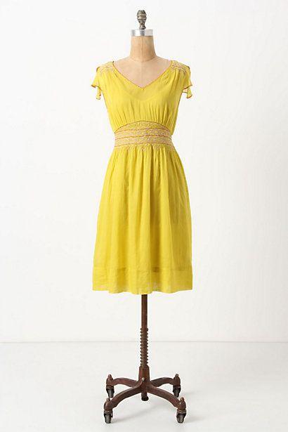 Incandescent Traces Dress