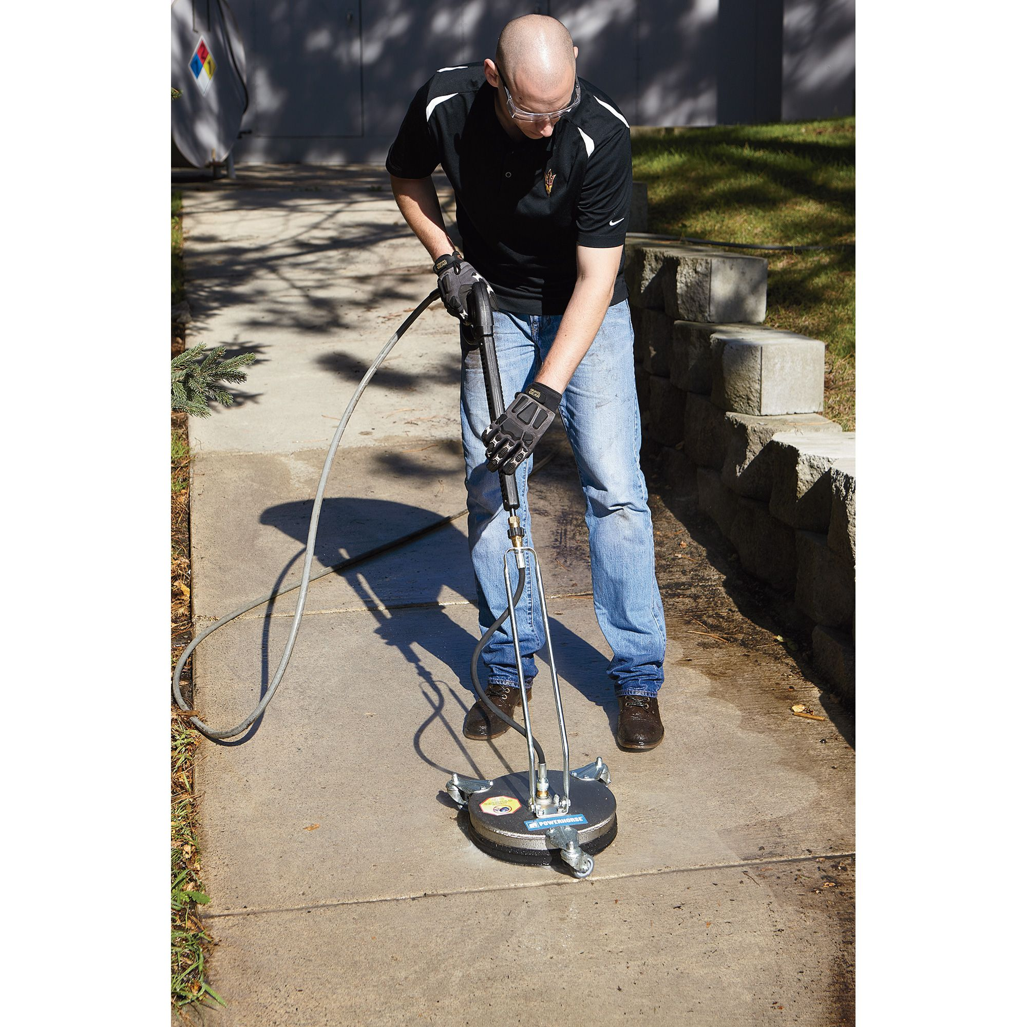 Powerhorse Pressure Washer Surface Cleaner — 12in  Dia , 3000 PSI