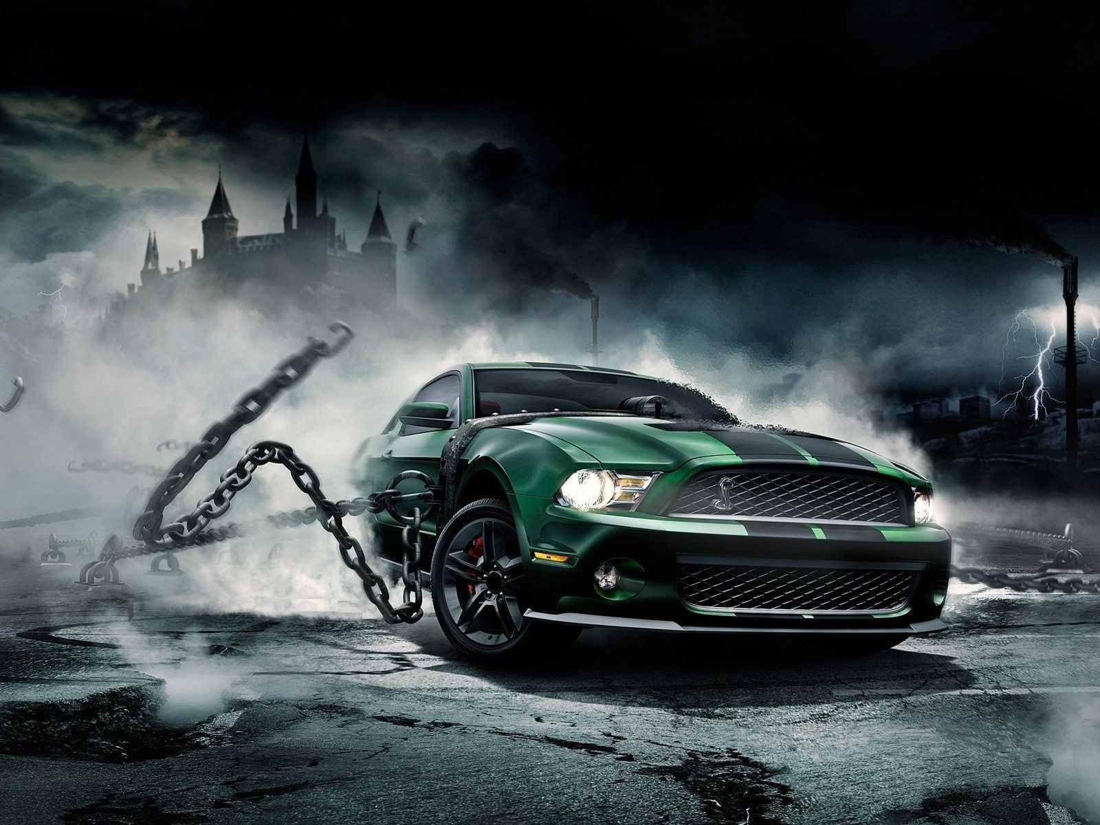 Beautiful Mustang Live Wallpaper for android Mustang
