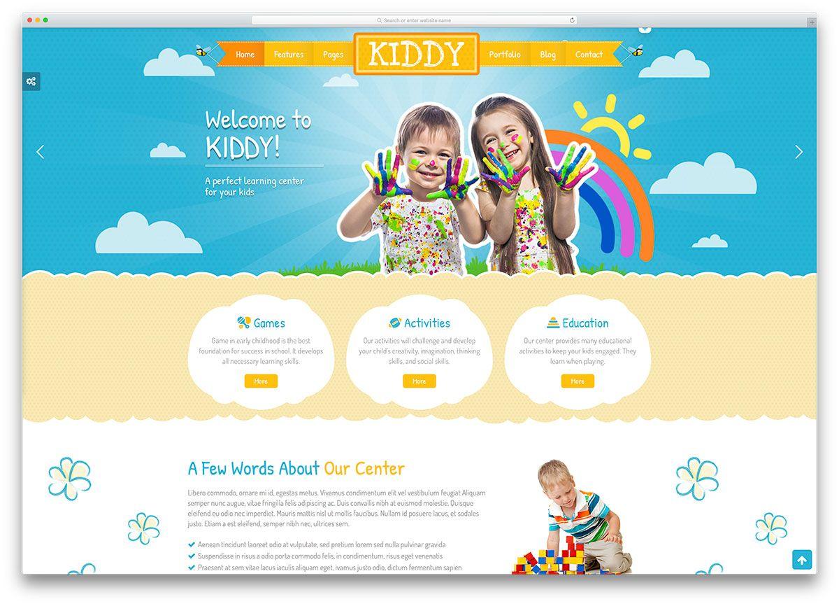 Top 23 Colorful Kindergarten WordPress Themes 2020