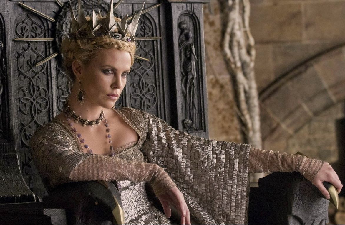lol this film is trying to convince me that charlize theron sends a huntsman out to assassinate kris