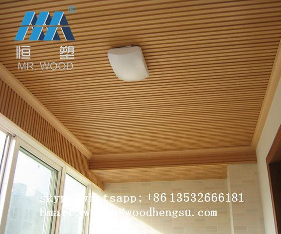 Simple Installation Wpc Ceiling Tiles Outdoor Wood Table Wood Panel Walls Woodworking
