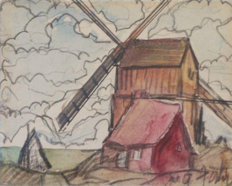 Marc Aurele Fortin Cosner Gallery Mill Art Canadien