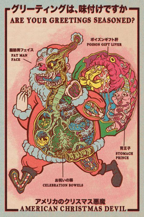 american christmas devil Craziness Pinterest Devil, Artsy and