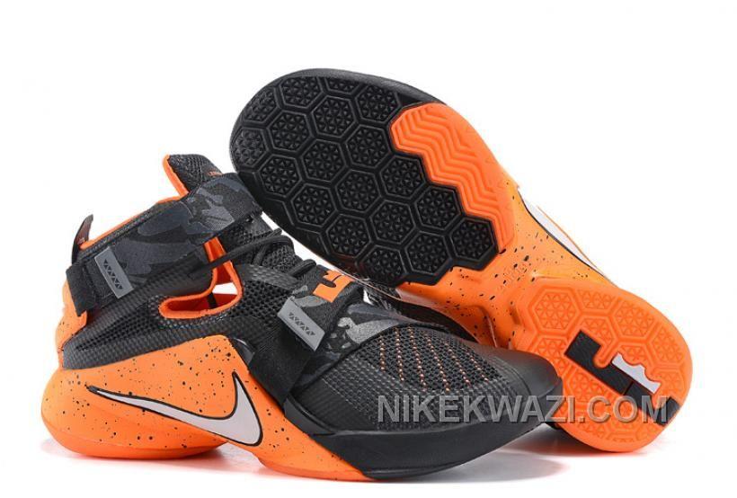 http://www.nikekwazi.com/nike-lebron-soldier-9-black-orange.html NIKE LEBRON SOLDIER 9 BLACK ORANGE Only $85.00 , Free Shipping!