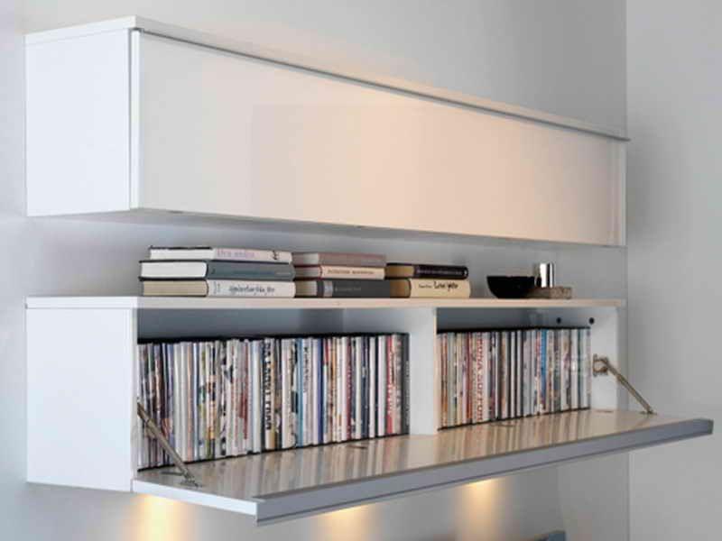 Media Storage Shelf Solution Organizer In 2020 Ikea Dvd Storage