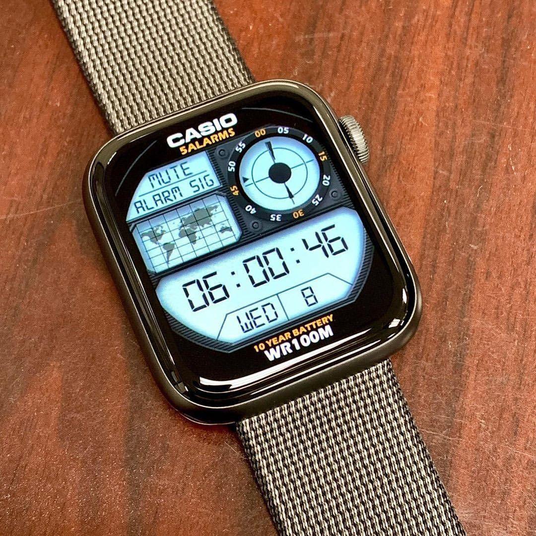 ساعة ابل كما لم تراها من قبل 10 صور لساعة ابل بتصاميم خاصة ساعة ابل ساعة ابل Relogio Retro Relogio Casio Relogios De Luxo