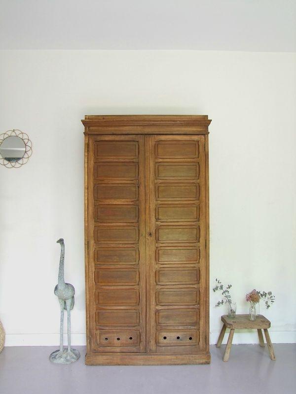 Armoire vaisselier vintage Pataluna Pinterest Brocante and Vintage - porte d armoire coulissante