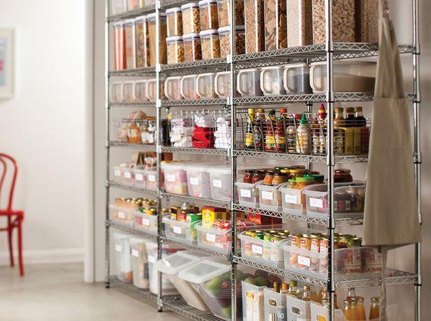 Organizing Home Pantry Voorraadkast Opruimen
