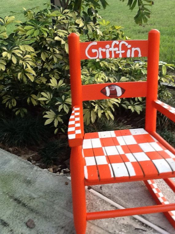 Incredible Pin By Jency Emo On Tennessee Vols Toddler Rocking Chair Dailytribune Chair Design For Home Dailytribuneorg