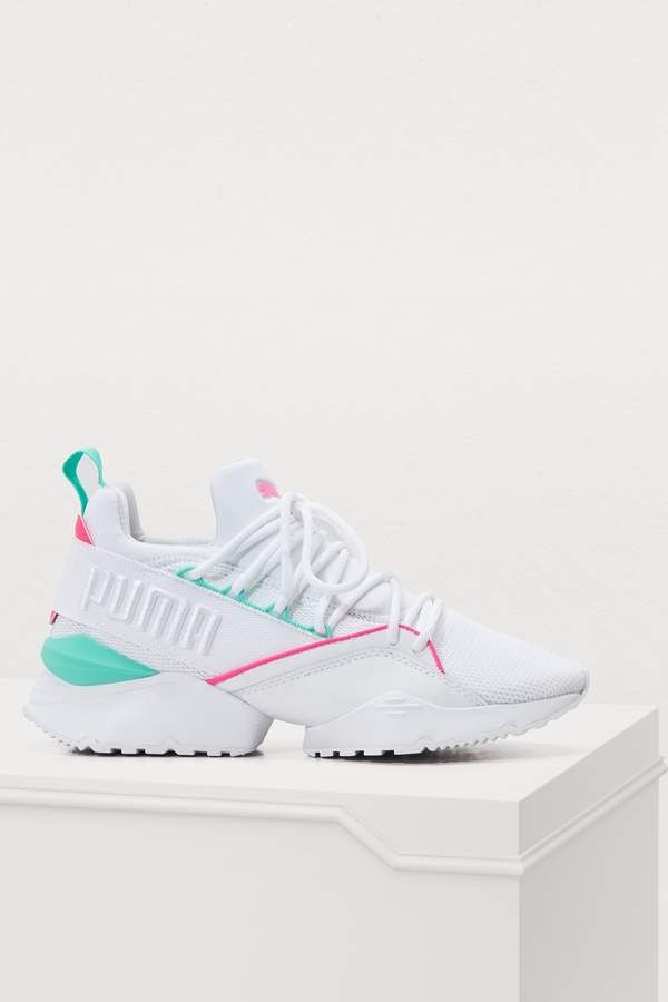 cb8be17804e Puma Muse Maia Chase sneakers | Footwear in 2019 | Puma sneakers ...