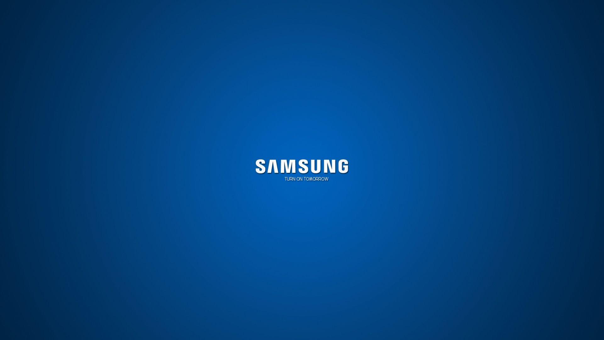 Download Wallpaper 1920x1080 Samsung Company Logo Blue White Full Hd 1080p Hd Background Samsung Logo Samsung Galaxy Wallpaper Samsung Laptop