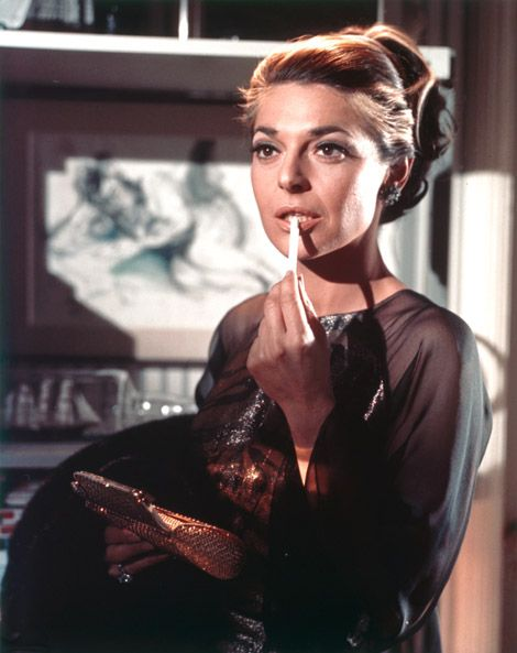 Mrs. Robinson, you seduced me. Anne Bancroft is still one of my favs.