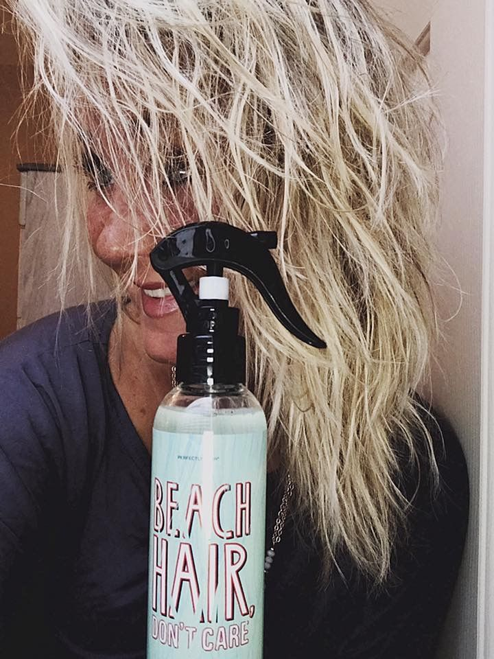 Beach Hair Don T Care Perfectly Posh By Katie Bell Perfectly