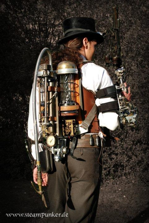 steampunk steampunker outfit