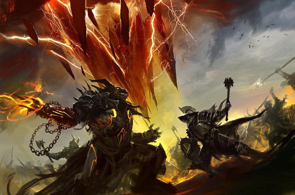 Concept Art Fantasy Battle