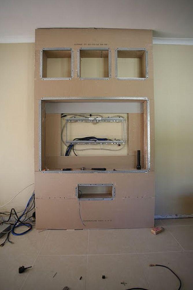 fake chimney breast tv - Google Search | Interior Style ...