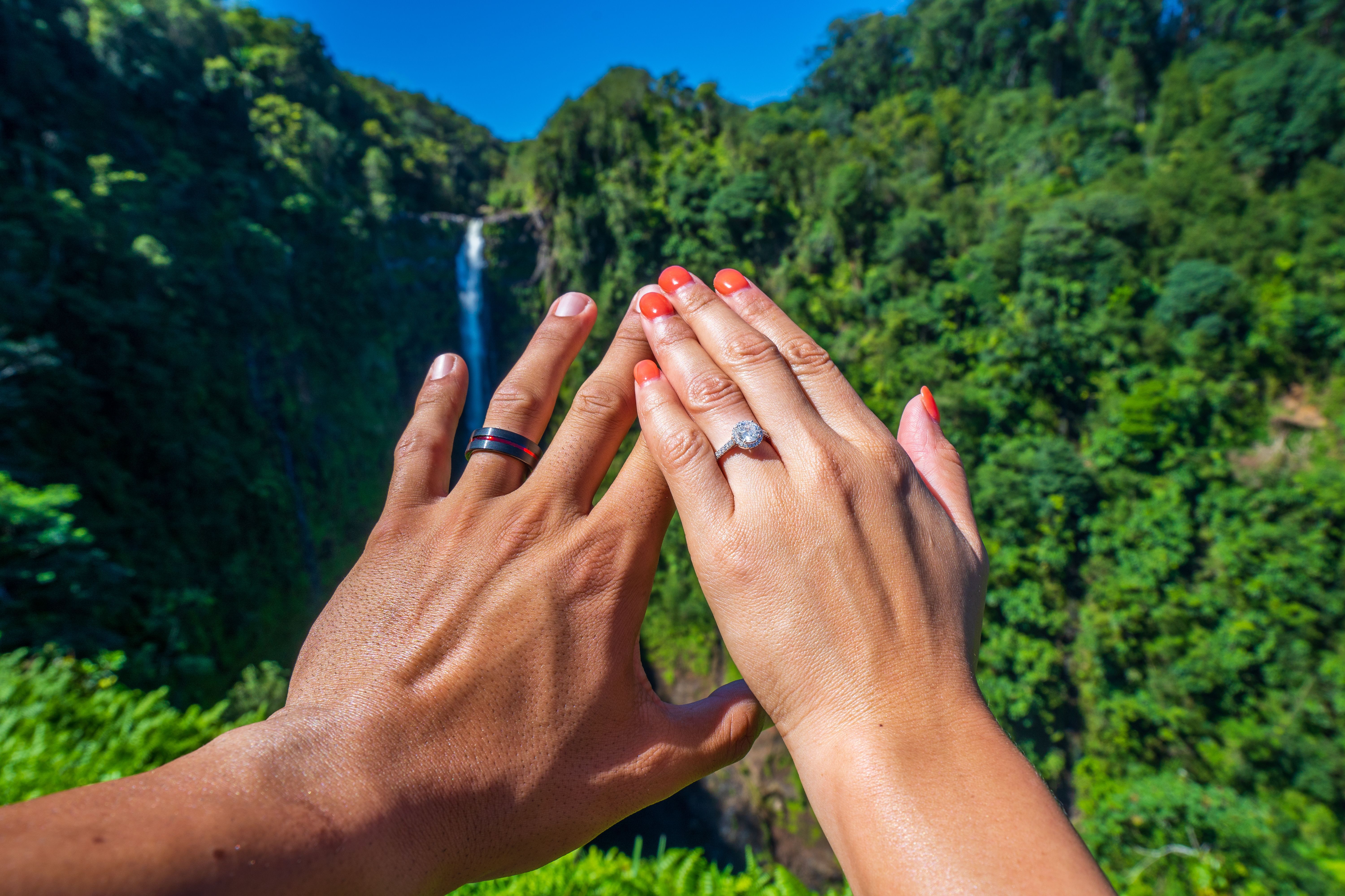 It is just an image of Pin on Travel Engagement Rings and Wedding Rings