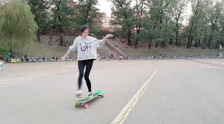 why watching this longboard