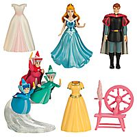 Sleeping Beauty Deluxe Figure Fashion Set