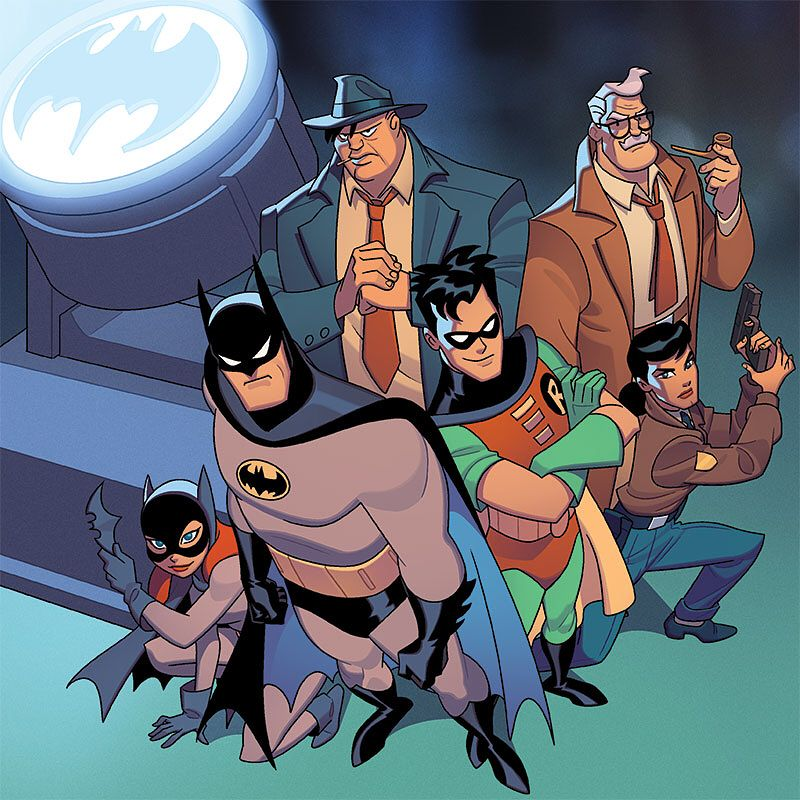 Sean Galloway Batman The Animated Series Card Game Under Siege