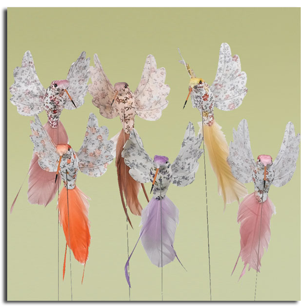 """7"""" Feather Hummingbird Pick $4.99 Available at Oddity Store"""