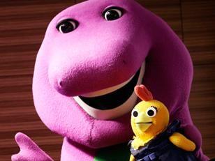 Barney The Dinosaur Arrested