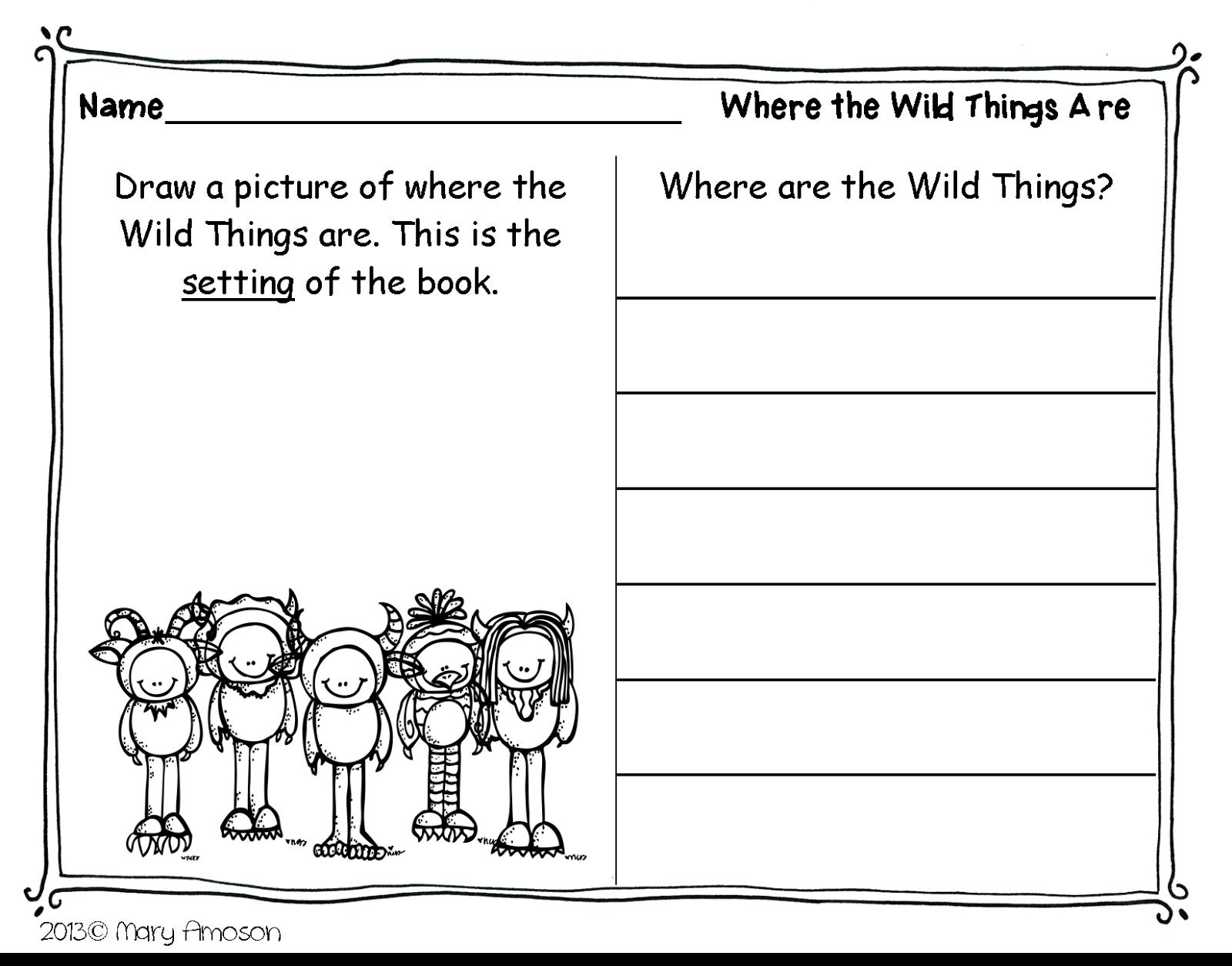 Wild . Free Printable. Book & Author