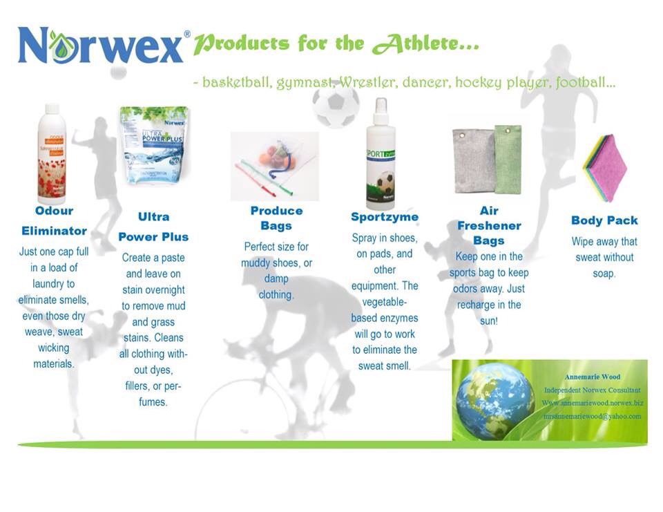 Norwex Products For Athletes Feel The Burn Without The Stink Norwex Athlete Hockey Players