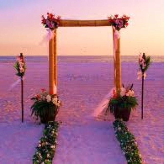 Sunset Beach Wedding Ideas: Pin On Wedding Ideas
