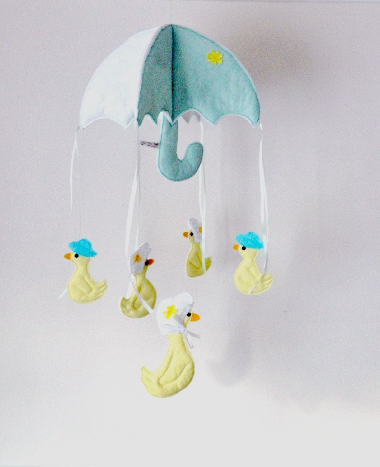 Baby's mobile hanging Crib Cot Felt child's by TinyTotsMobiles, £30.00