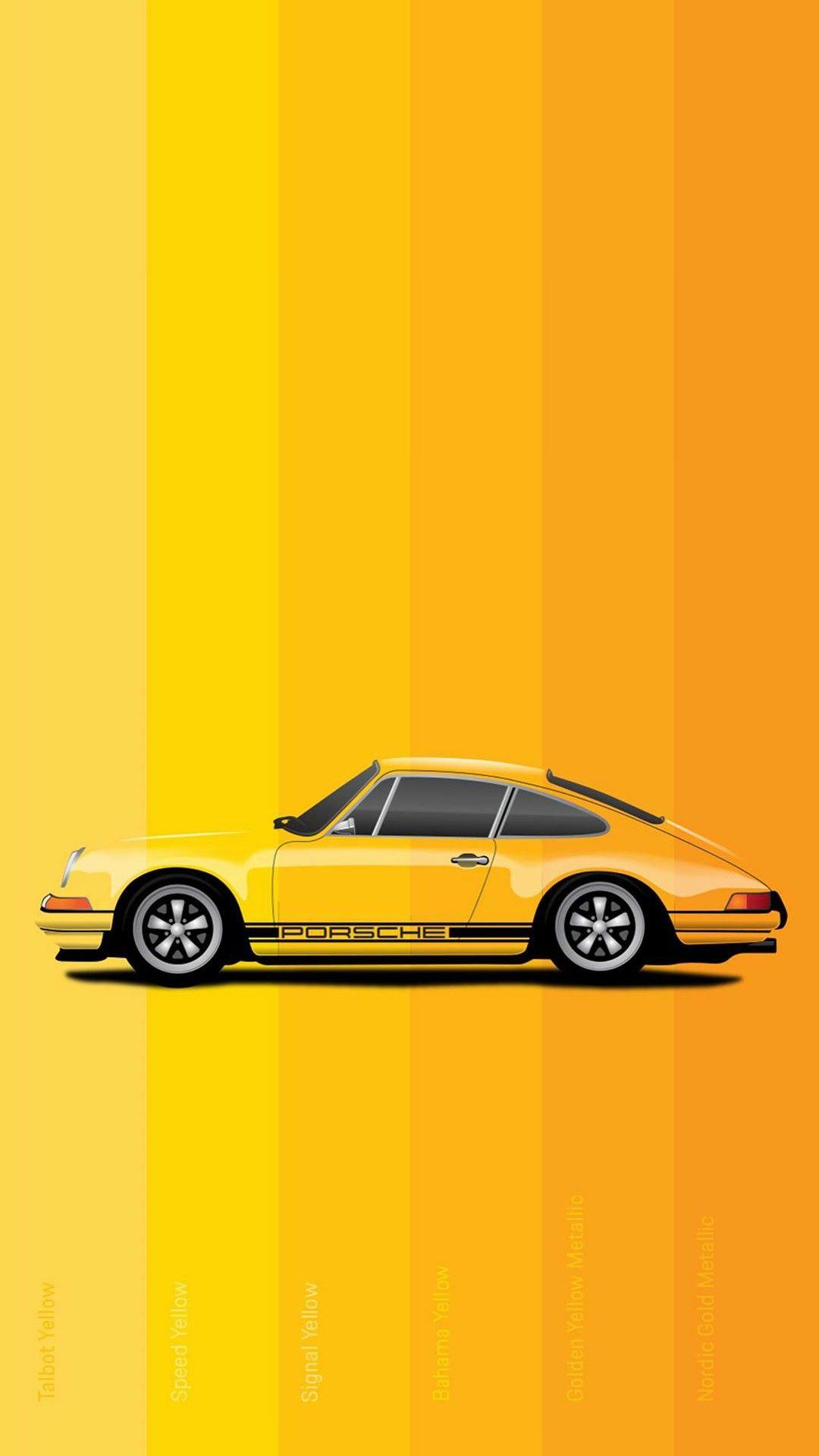 Yellow Porsche Wallpaper 1080x1920 Samsung Galaxy Wallpaper Wallpaper Samsung Wallpaper Android