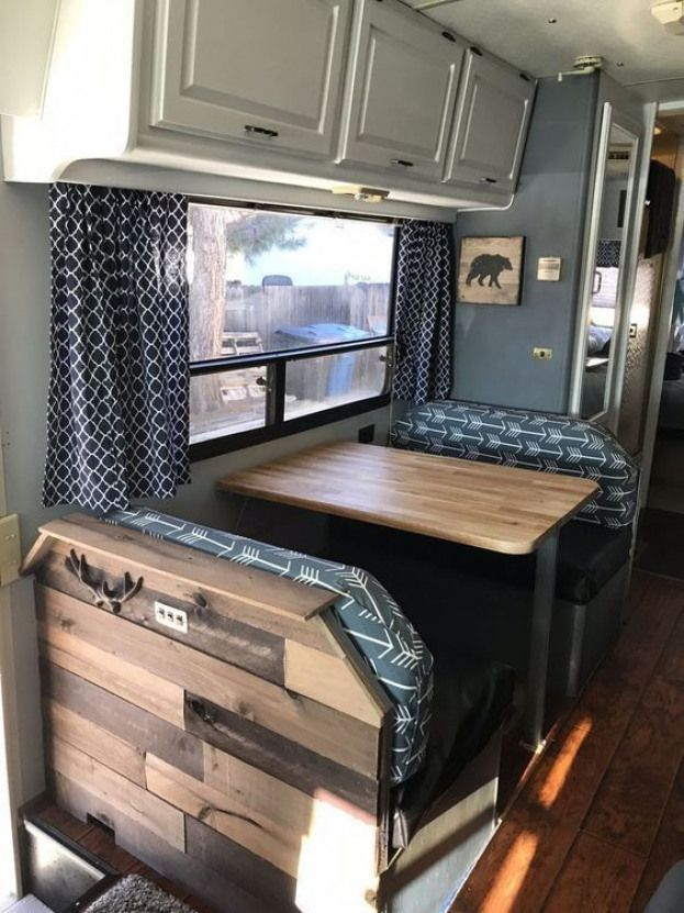48 Glamour Interior RV Campers Ideas Will Best Inspire