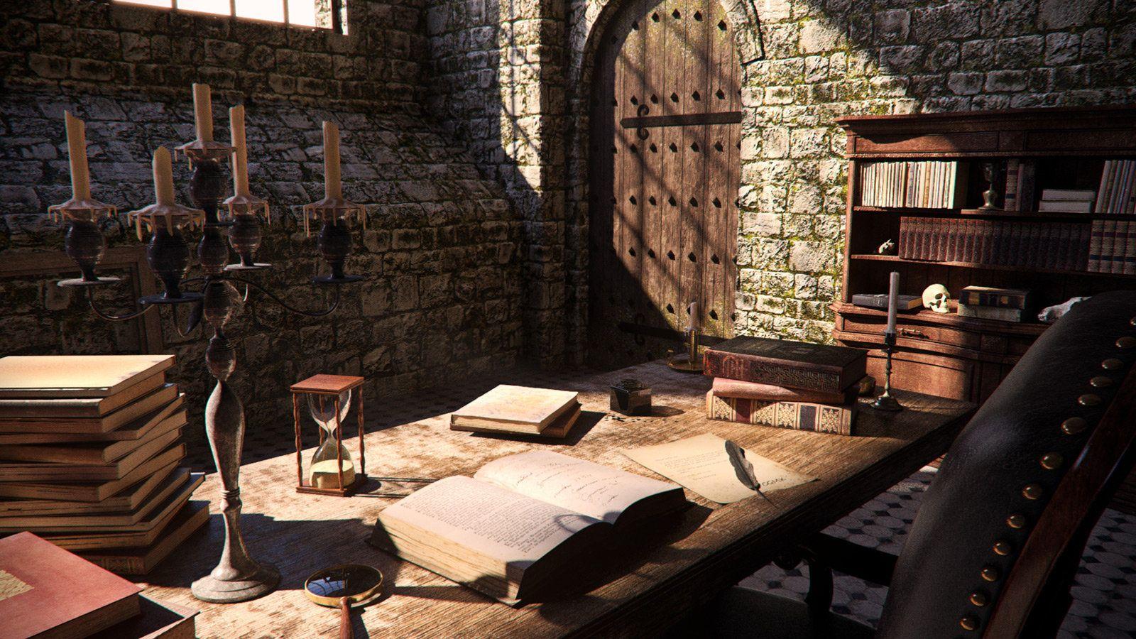 ArtStation - Medieval Interior, CGMonkeyKing !