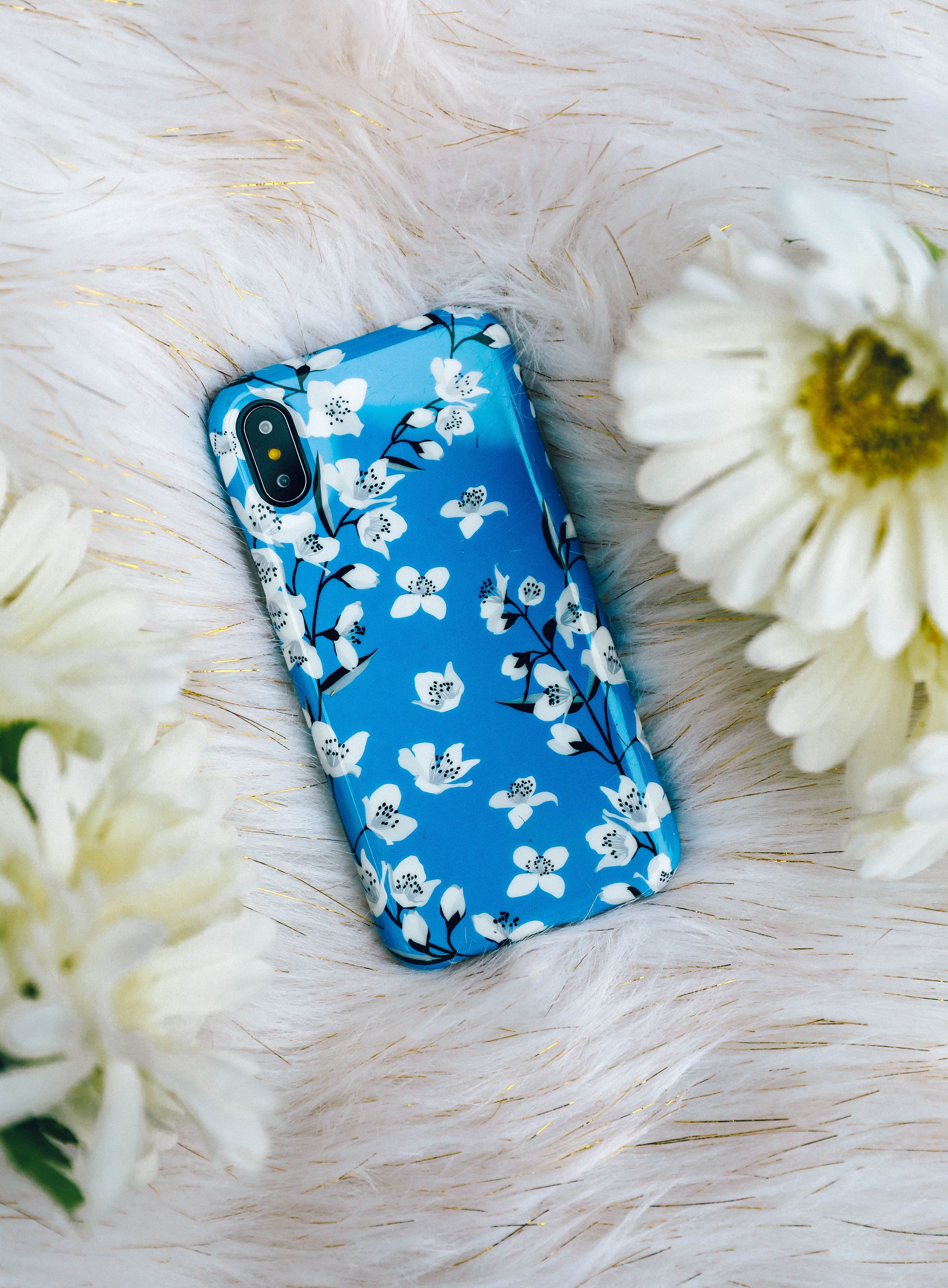 online store 8450d 30464 Blue Flower Power Floral Case in 2019 | Casely Cute Protective ...