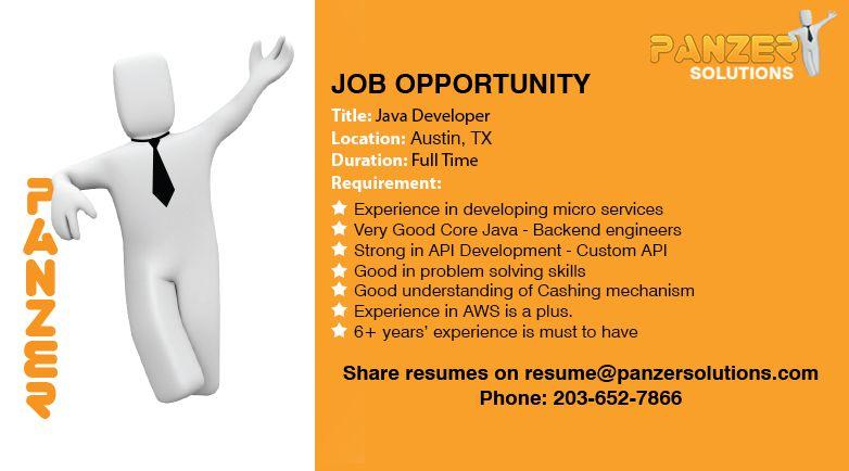 Java developer in 2020 job opportunities business