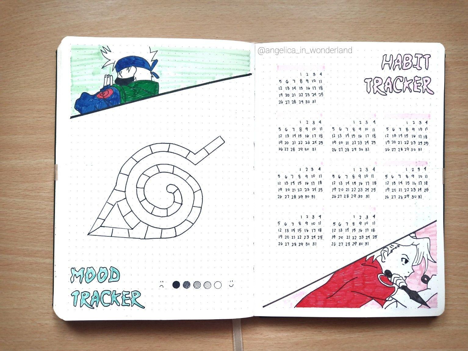 Follow Me On Instagram Angelica In Wonderland Naruto Bujo