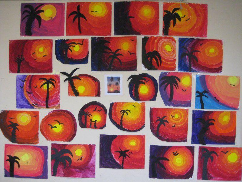 Arts plastiques p riode 1 cm2 b knutselen pinterest cm2 p riode et art plastique - Activite manuelle elementaire ...