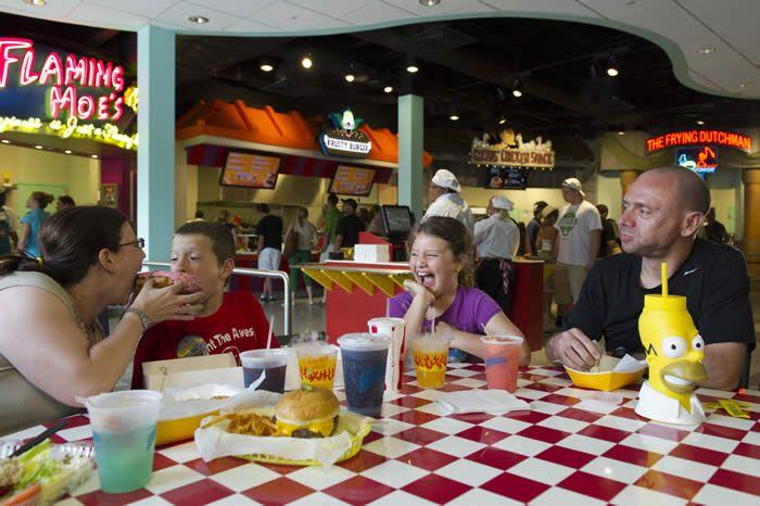 Universal Studios Orlando Dining And Restaurants