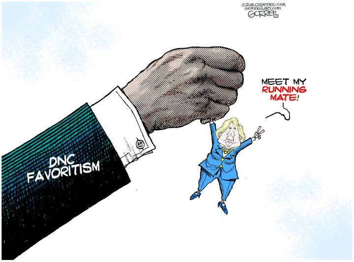 Bob Gorrell (2016-07-25) USA: Hillary Clinton