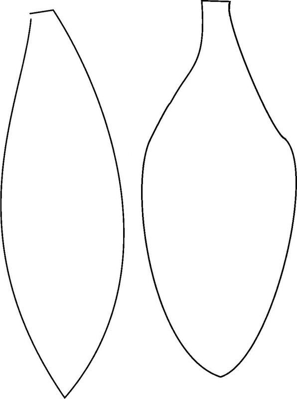 lily pad template printable patterns