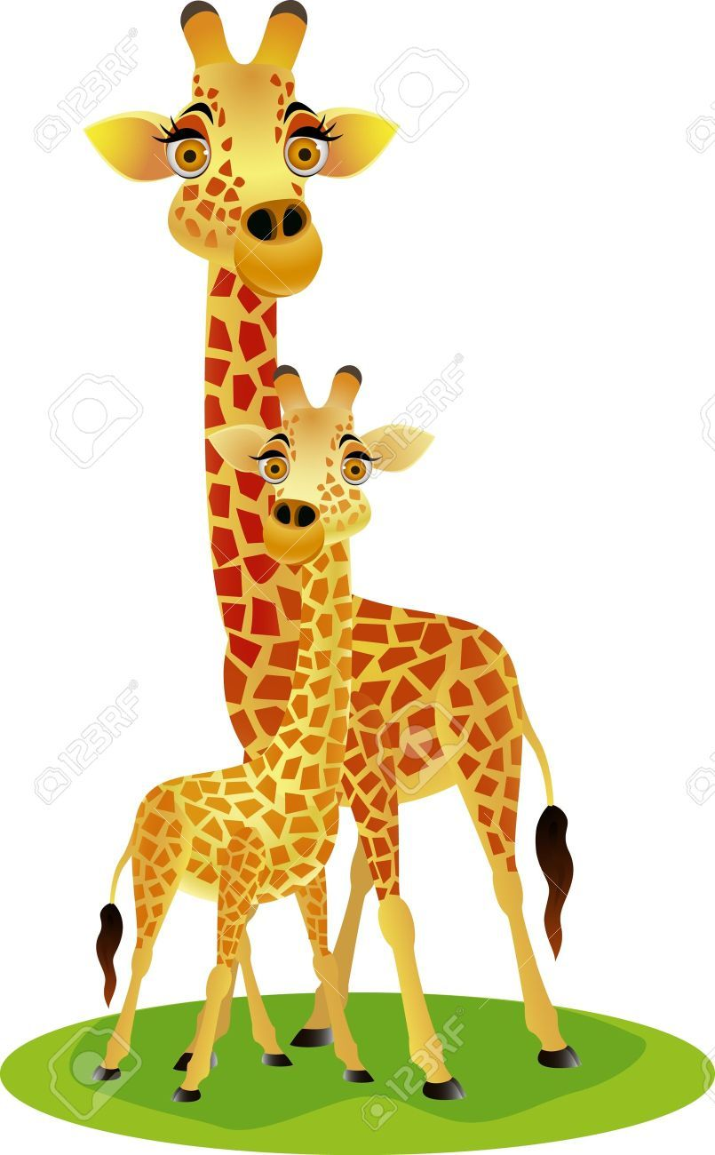small resolution of giraffe stock vector illustration and royalty free giraffe clipart