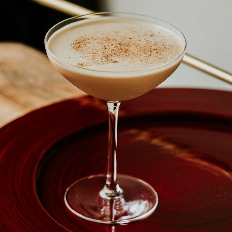 Skip Dessert Have A Brandy Alexander Instead Brandy Alexander Brandy Cocktails Brandy Alexander Drink