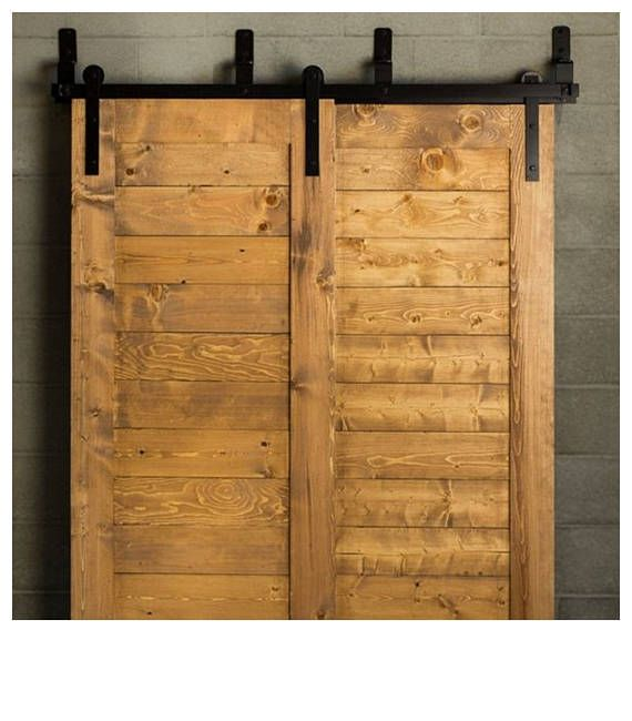 Bypass Barn Door Hardware Classic Design Horseshoe Etsy Barn Doors Sliding Barn Door Hardware Sliding Door Hardware