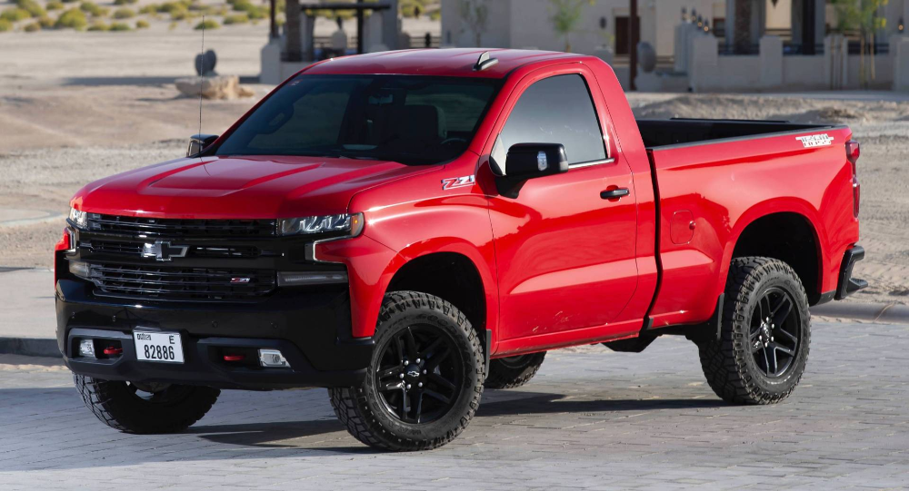 2019 Chevy Silverado Rst And Trail Boss Regular Cabs Too Cool For