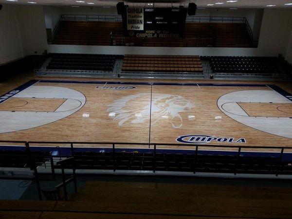 Chipola College Basketball Floor Gym Flooring