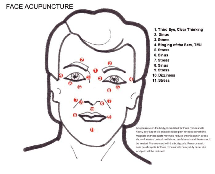 facial acupuncture points face acupuncture acupuncture. Black Bedroom Furniture Sets. Home Design Ideas