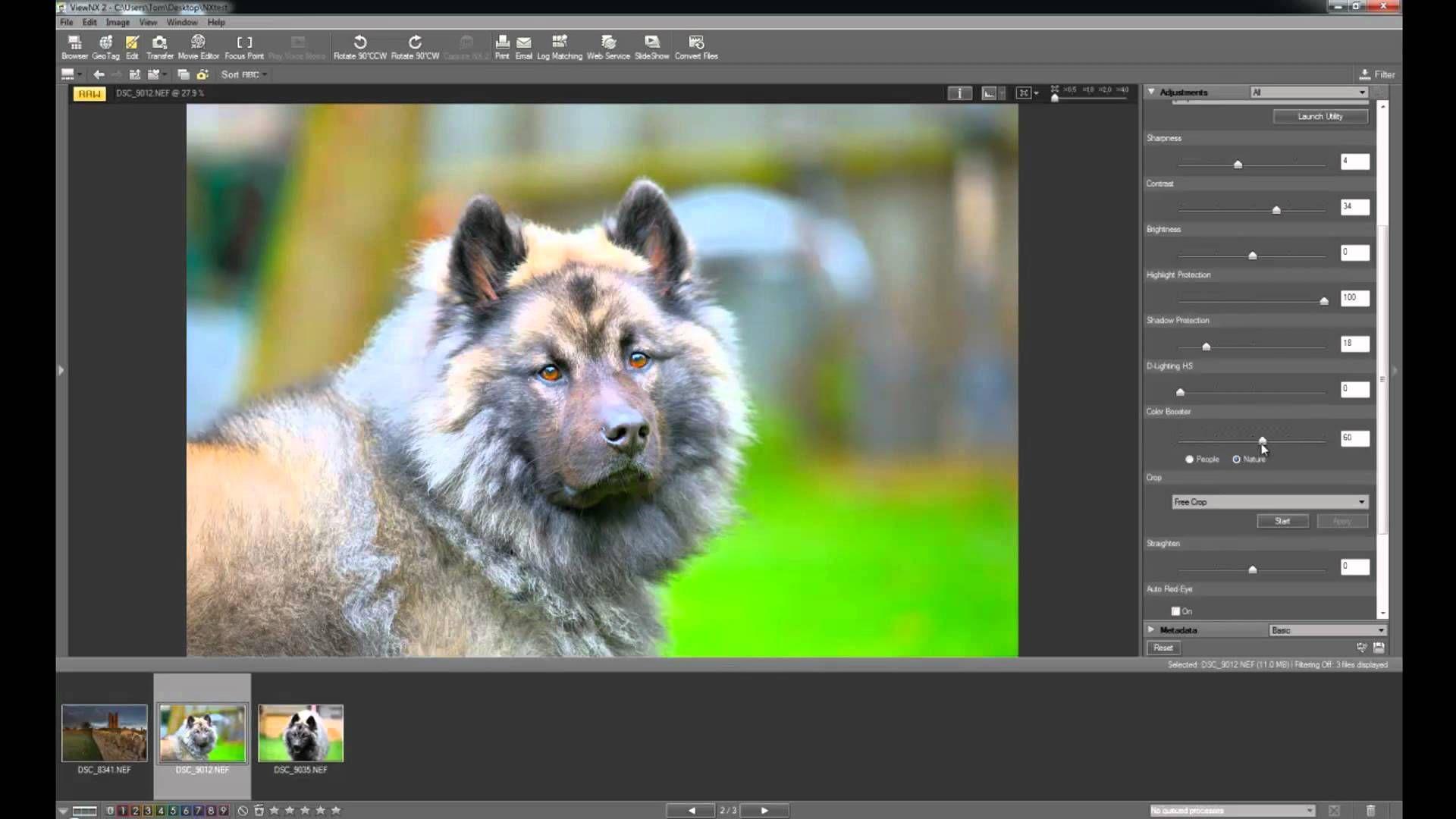 Nikon view nx 2 tutorial browsing experience (1/3) youtube.