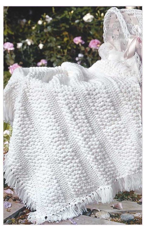 Find the Perfect Crochet Baby Blanket Pattern with the Encyclopedia ...
